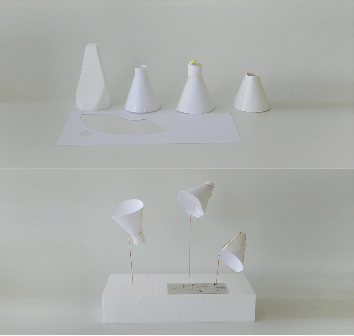 Sebastian Klawiter bewegtes Licht Produktdesign Skizzen Modelle