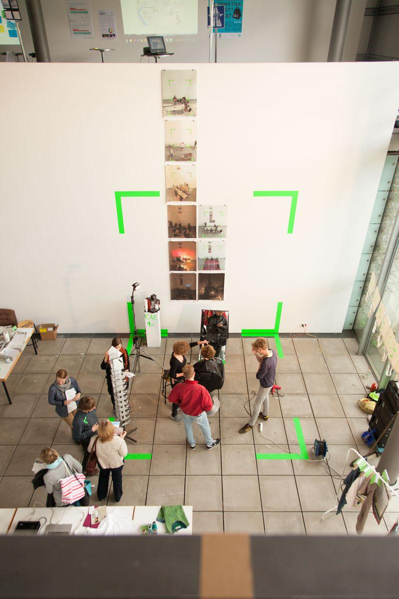 Sebastian Klawiter Reallabor 24 Experimant Spacesharing Kunstakademie Stuttgart