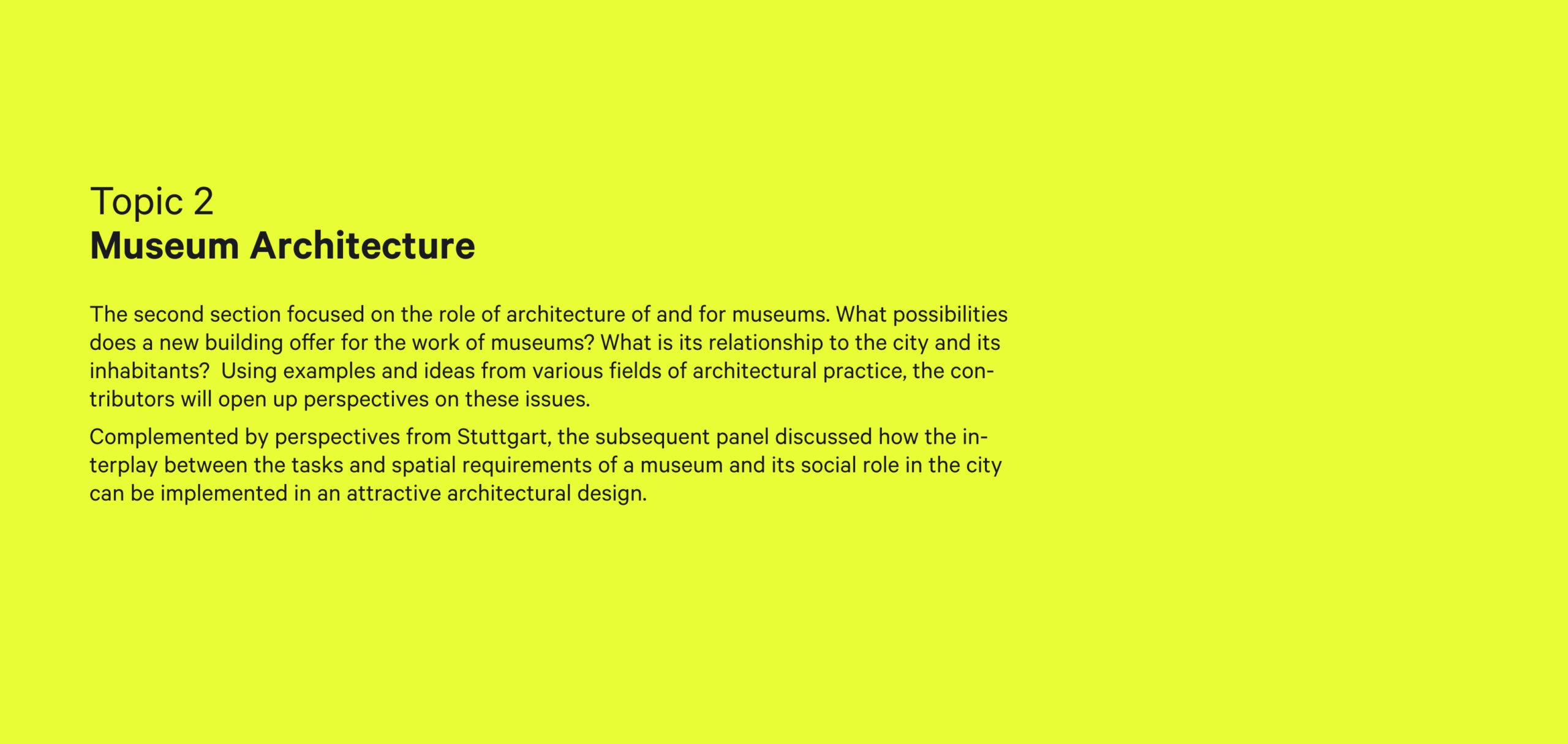 sebastian klawiter Das neue Museum — Ideen für das ethnologische Museum der Zukunft Lindenmuseum Stuttgart