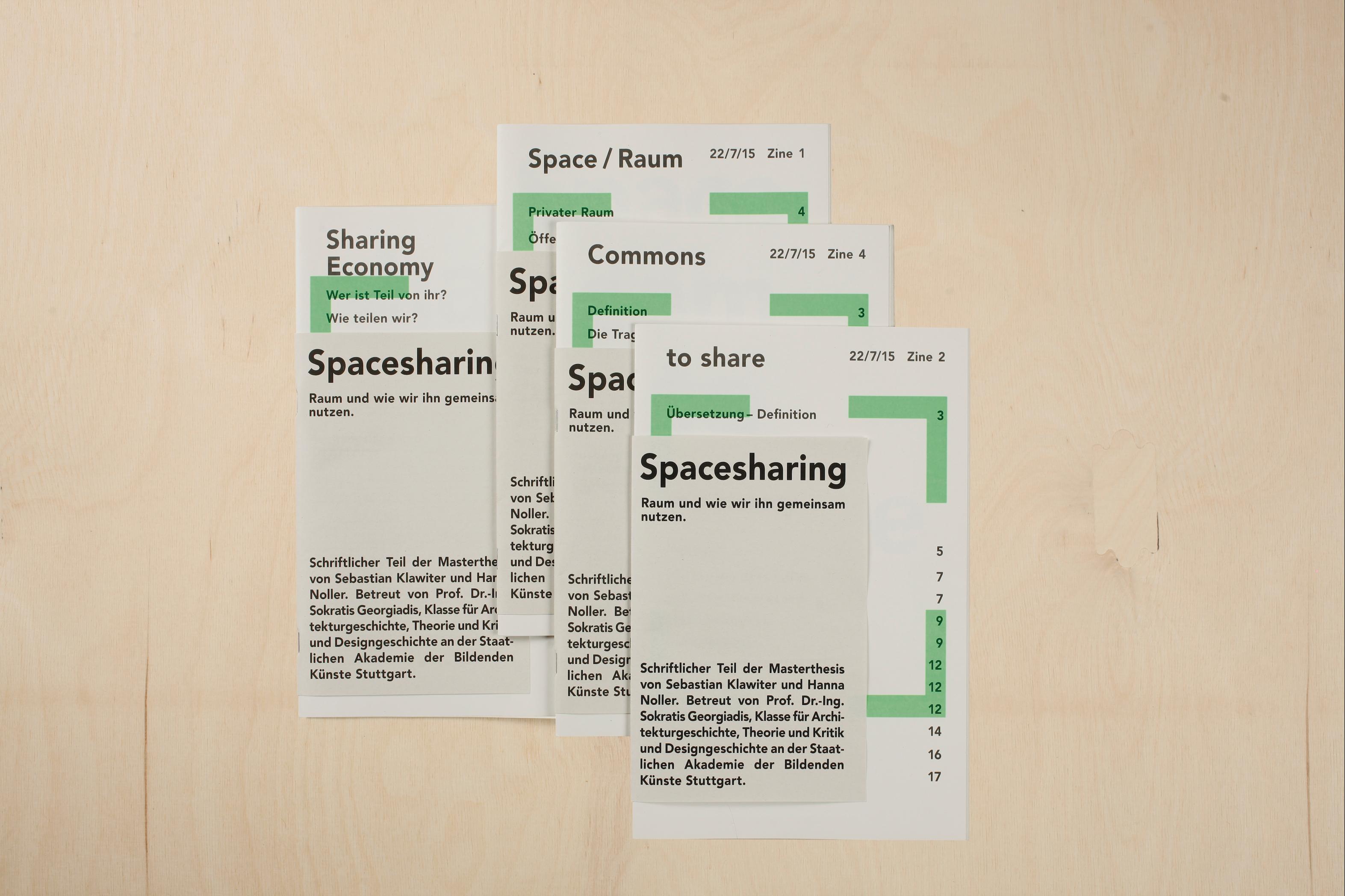 Sebastian Klawiter Masterarbeit Stadtlücken Spacesharing Kunstakademie Stuttgart