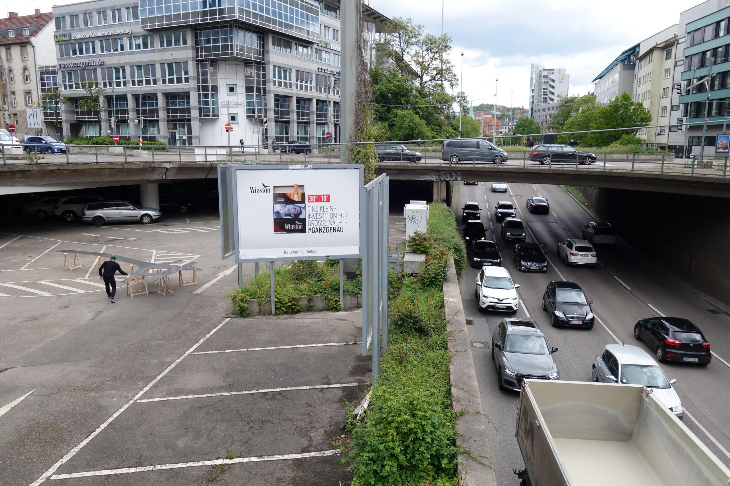 Stadtraum Möbel Sebastian klawiter Stadtlücken visionäre Räume österreichischer platz stuttgart stadtlücken
