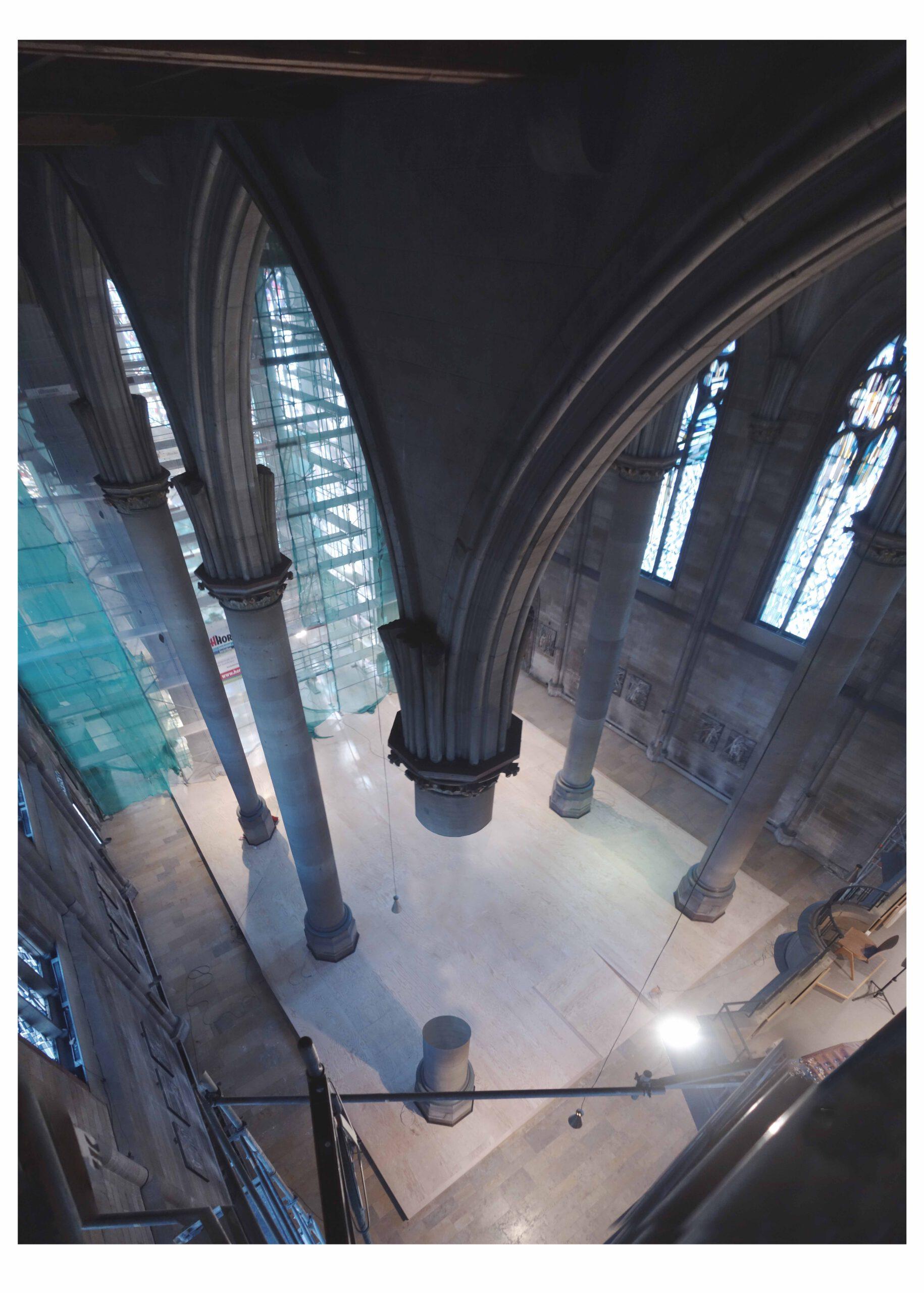 st maria als prozess sebastian klawiter stuttgart katholische kirche stadtraum prozess provisorium dialogmöbel
