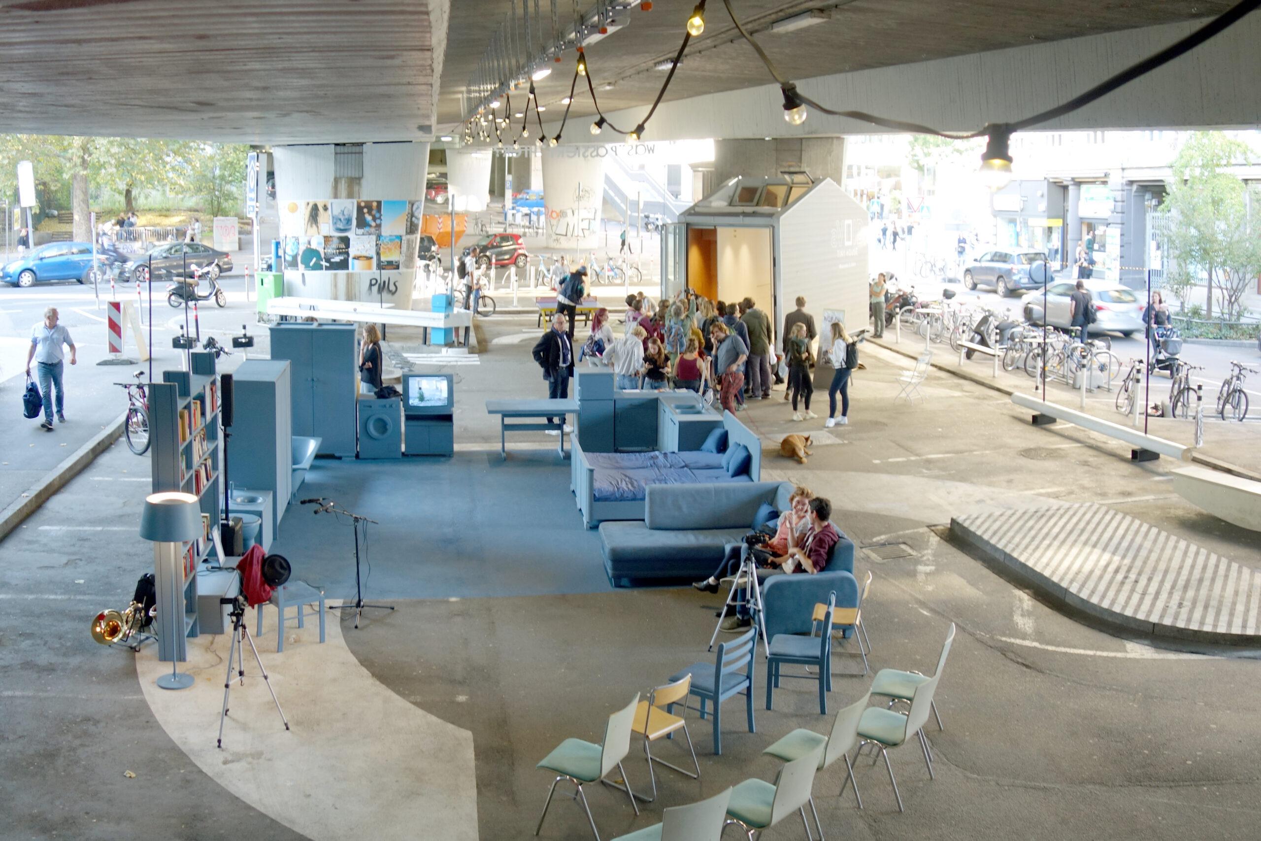 Sebastian Klawiter Urbanes Experimentierfeld Stuttgart Stadtlücken Österreichischer Platz Kooperativer Stadtraum Experiment Prozess Architektur